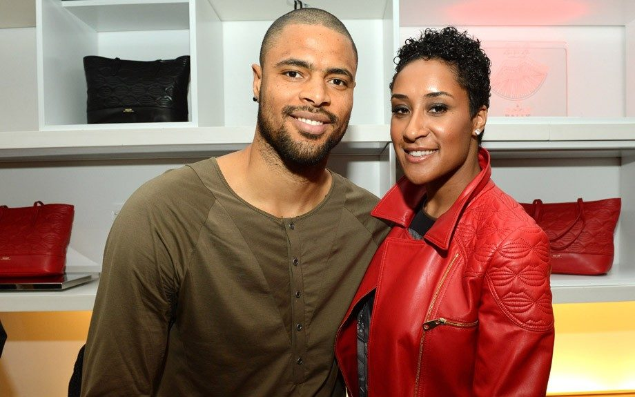 """Tyson Chandler and wife Kimberly host Bally's """"Lips for Life"""" Capsule Collection launch. Photo Courtesy of Bally"""