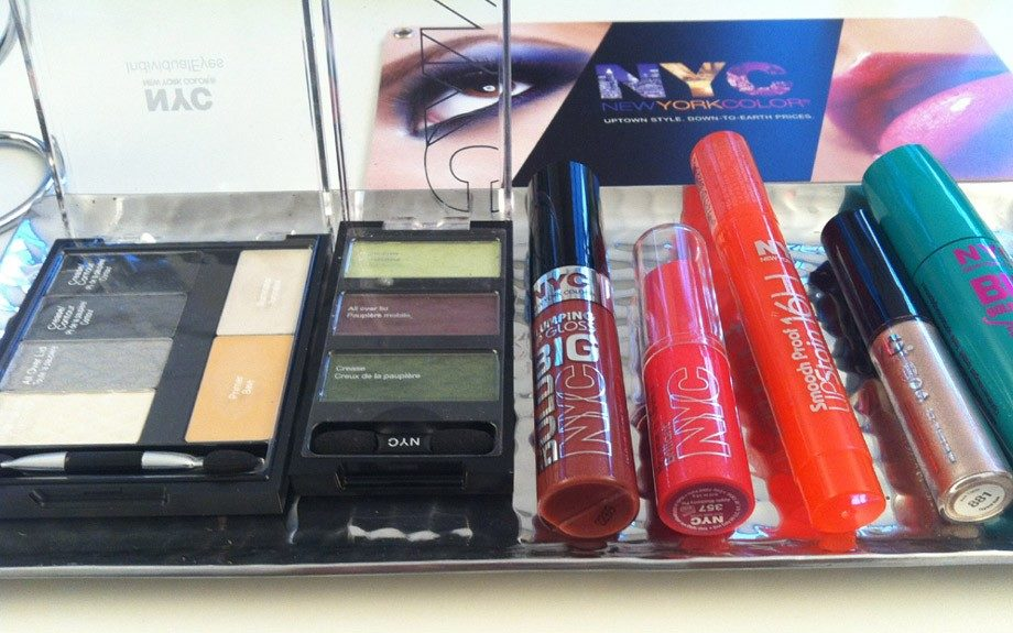 Just a taste of NYC New York Color's products that will be out in January 2013