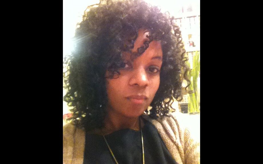 Fashion Editor, Ericka Goodman with her new and improved do', courtesy of Miss Jessie's Curl Bar in Manhattan
