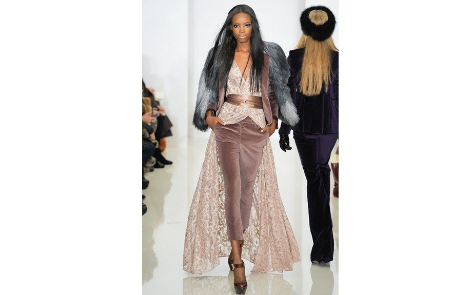 The Runway: Rachel Zoe captures the simplicity of glamour this season, with her Fall 2012 collection of blazers and tops.  Photo Credit: style.com