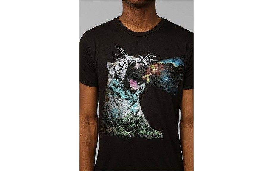 "Roaring Tiger Tee ($24, <a href=""http://www.urbanoutfitters.com/urban/catalog/productdetail.jsp?id=28821734&parentid=M_APP_TEESSHORT"">urbanoutfitters.com</a>)"