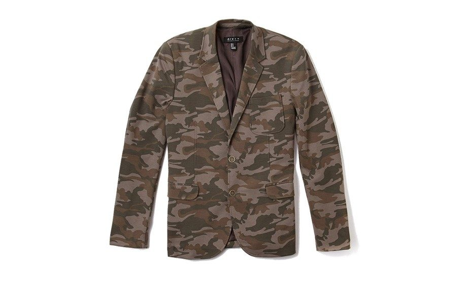 "For the Trendy: Forever 21 Knit Camo Blazer ($53, <a href=""http://www.forever21.com/Product/Product.aspx?BR=21men&Category=m_blazers-and-vests&ProductID=2058790407&VariantID="">forever21.com</a>)"