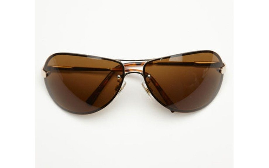 For the Everyday Man: Perry Ellis The Ray Sunglasses ($45, perryellis.com)