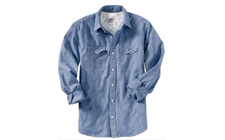 For the Classic Lover: Old Navy Chambray Shirt ($16, oldnavy.com)