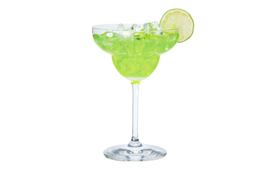 <strong>Classic Midori Margarita</strong>  	Made with Midori® Melon Liqueur and Cabo Wabo ™ Blanco Tequila. See below for recipe.
