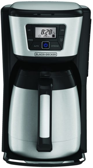 "Black + Decker 12-Cup Thermal Drip Coffee Maker, $59.99, <a href=""http://www.target.com/p/black-decker-12-cup-thermal-drip-coffee-maker/-/A-15732153"">www.target.com</a>"