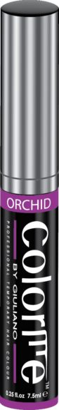 "Add luscious purple locks with this Colorme Temporary Hair Color in Orchid to complete your Nicki Minaj look. ($11.99, <a href=""http://www.sleekhair.com/com01-orchid.html?gdftrk=gdfV25188_a_7c1551_a_7c6162_a_7ccom01_d_orchid"">www.sleekhair.com</a>)"