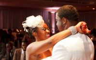 Black Wedding Style: The Robinsons Star in Their Own Hollywood Wedding