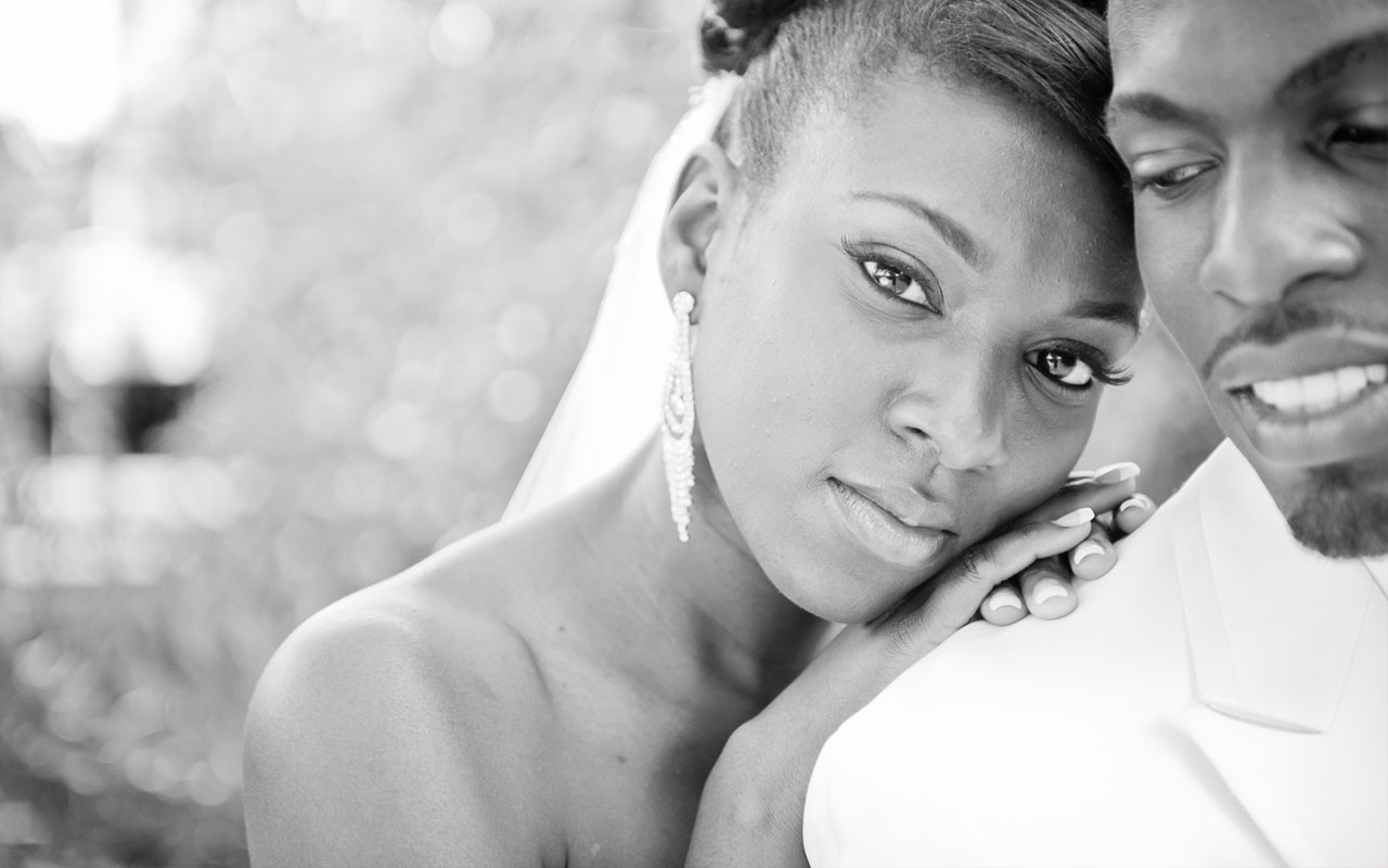 Black Wedding Style A Young Couple New Beginnings Ebony