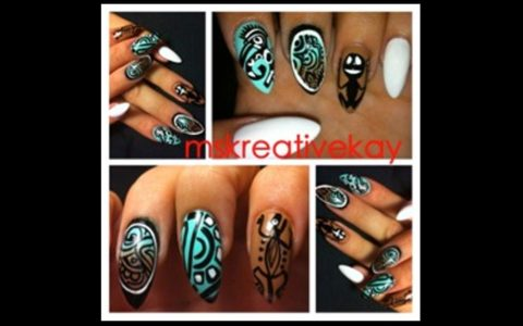 Nail Files: African-Inspired Beauty Design