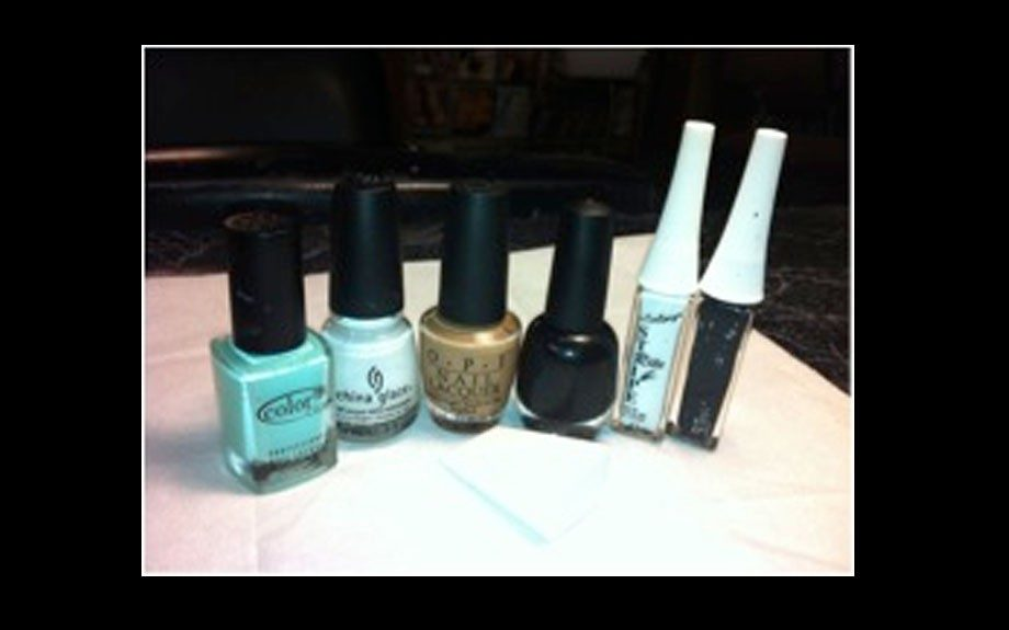 OPI and China Glaze are among the nail lacquers used.