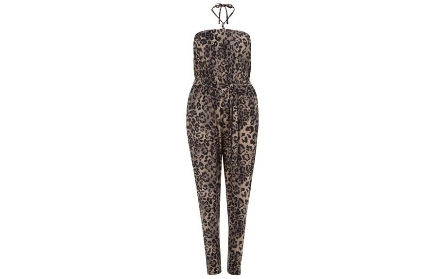 "<strong>Leopard Prints: </strong>Scarlett & Jo Leopard Print Jumpsuit, <a href=""http://www.evansusa.com/en/evus/product/clothing-942924/scarlett-jo-2267561/scarlett-jo-brown-animal-print-jumpsuit-3222058?bi=1&ps=20"" target=""_blank"">$89.50</a>"