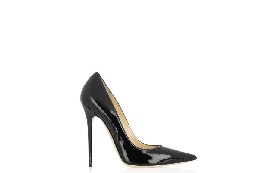"<strong>LOOK ONE: </strong>Jimmy Choo Anouk Pumps <a href=""http://www.net-a-porter.com/product/362813/Jimmy_Choo/anouk-patent-leather-pumps"" target=""_blank"">$595</a>"