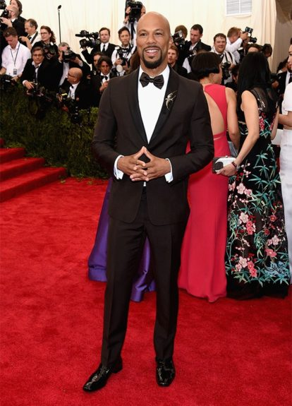 Common at the 2015 Met Costume Institute Gala