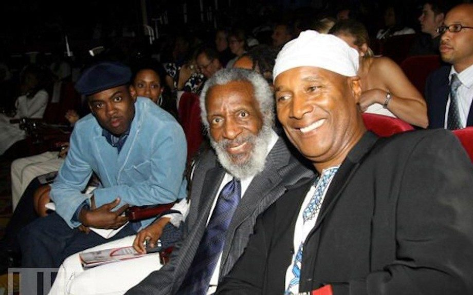 Dick Gregory and Paul Mooney