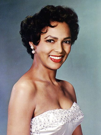 Let's lose those Marilyn Monroe dreams and dress up as Hollywood beauty Dorothy Dandridge.