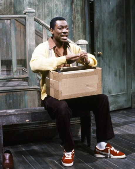 "Eddie Murphy's four-season run was as <em>hot</em> as the tub in his <a href=""http://www.youtube.com/watch?v=kgoN-u_77NE"">James Brown sketch</a>. He dominated telecasts with characters like <a href=""http://www.youtube.com/watch?v=MgFDv_4oKsw"">Buckwheat</a> and Gumby."