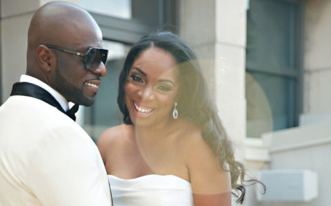 [BLACK WEDDING STYLE] This Lucky Couple Was Serenaded by Raheem DeVaughn