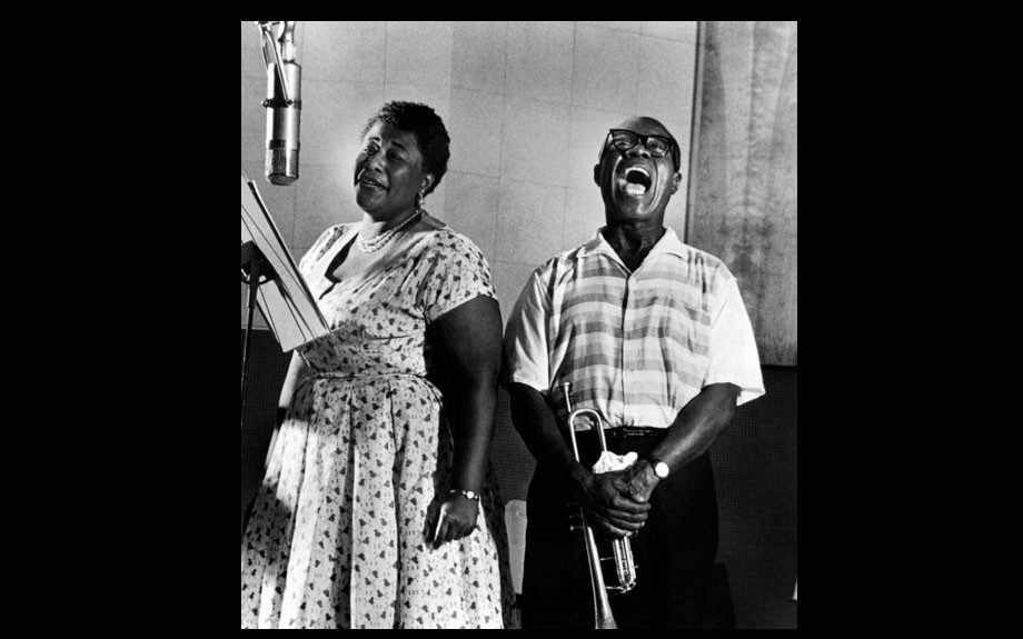 Sing it Ella Fitzgerald and Louis Armstrong!