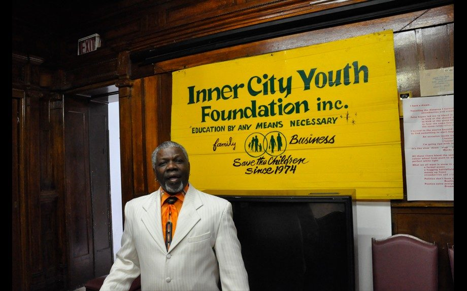 Don Dirk at Inner City Youth and Adult Foundation where he first lived after recent incarceration