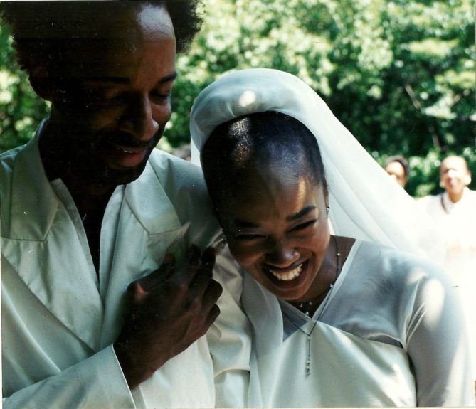 """""""I wasn't nervous about proposing to Lisha because it was meant to be,"""" says Rodney. """"I was in too much of a hurry when I proposed the first time. God separated us and put us back together once we were ready,"""" adds Lisha, who never thought about mar"""