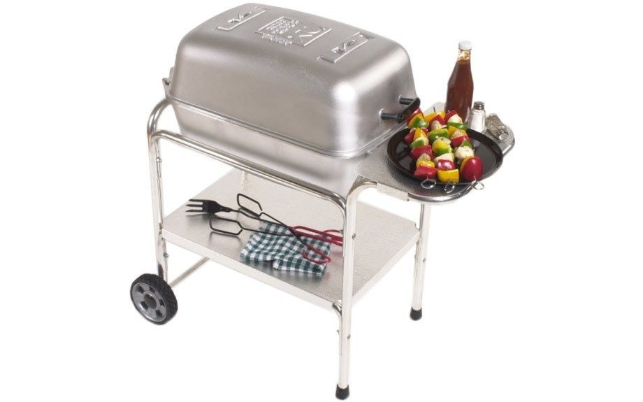 "He'll be more than happy to hop on the grill. Portable Kitchen Charcoal Grill and Smoker. $299.99; <a href=""http://keepamerica.com/shop/portable-kitchen-charcoal-grill-and-smoker.html"" target=""_blank"">www.KeepAmerica.com</a>"