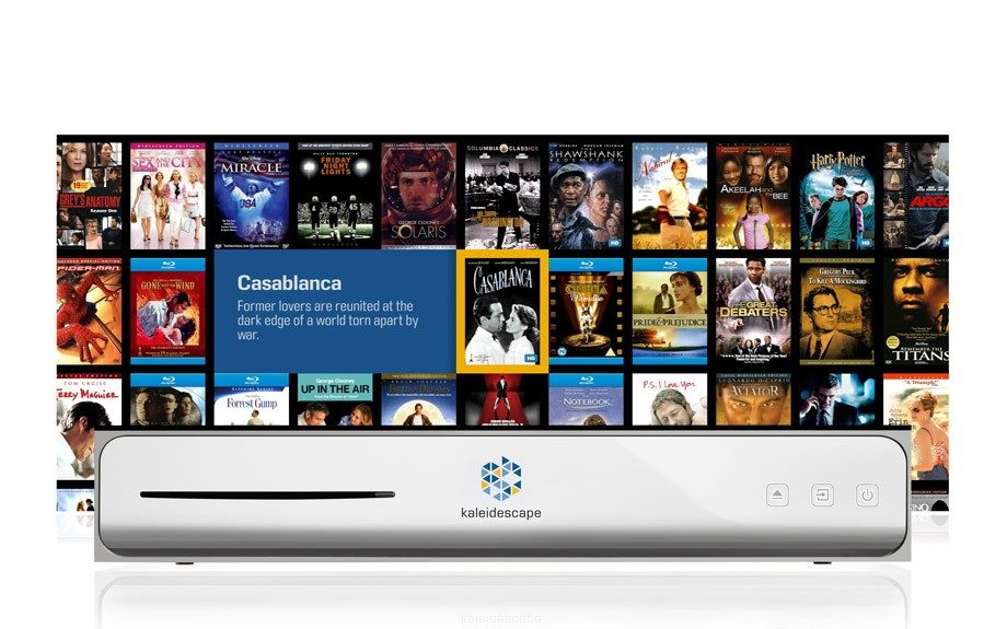 "For the true film geek. Cinema One Ultimate Movie Player. <a href=""http://www.kaleidescape.com/"">http://www.kaleidescape.com/</a>"