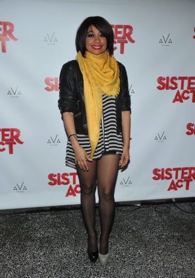 "Raven Simone, the new lead of ""Sister Act The Musical"" wears mismatched shoes. Will this be a trend?"