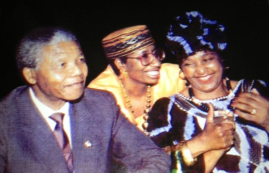 "<font face=""HelveticaNeue,helvetica,arial,sans serif"" size=""1"" style=""color: rgb(0, 0, 0); text-align: justify; ""><span style=""font-size: 12px; "">Caroline introduced to Nelson and Winnie Mandela in 1990 in Boston.</span></font>"