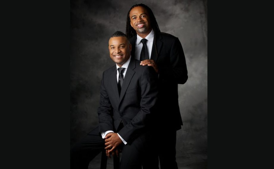 """Bishop Oliver and the First Gentleman of Vision Church. As First Gentleman, Rashad handles media relations. """"We are very fortunate, but we are not to do everything. So I am very thoughtful about those [media] choices, so that the integrity of the church, the ministry and Oliver are protected.&"""