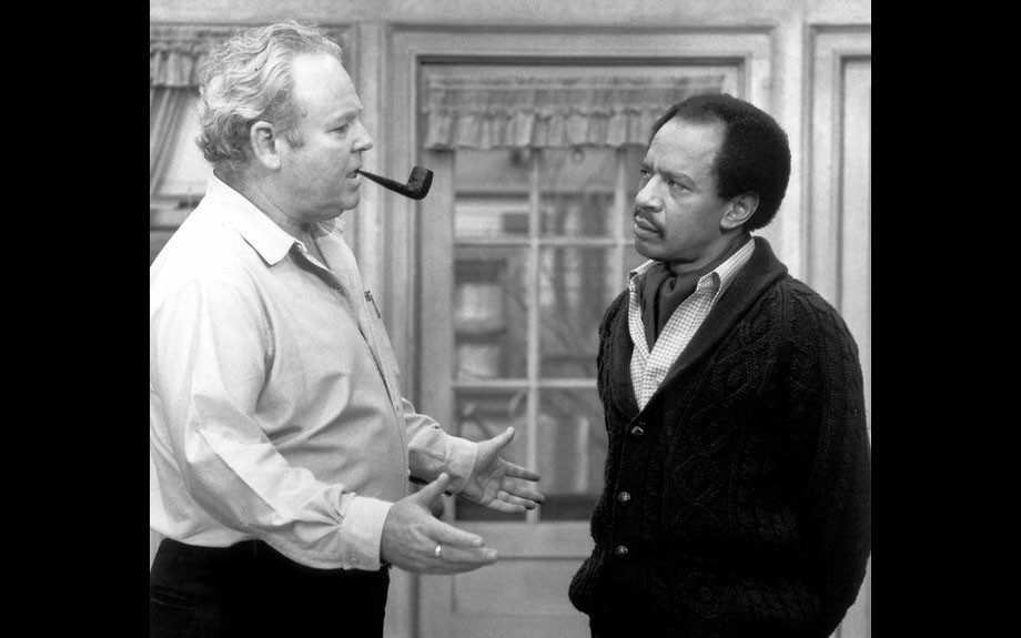 <em>All in the Family:</em>Before George Jefferson moved on up to the Upper East Side of Manhattan, he stood his ground in Queens against TV's biggest bigot, Archie Bunker. Their racial locking of horns was never before seen on television.