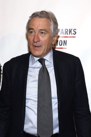 Robert De Niro arrives at the Gordon Parks Foundation Awards Dinner and Auction.