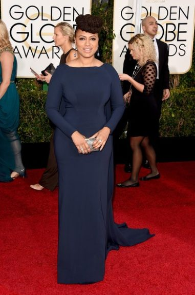 <em>Selma</em> director Ava DuVernay at the 72nd annual Golden Globe Awards