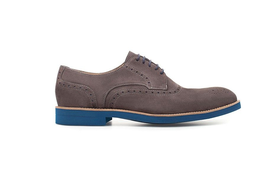 Contrast Blucher Retail $99.00 Available at ZARA.com