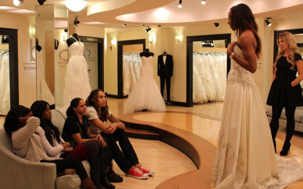 WNBA Stars Brittney Griner and Glory Johnson 'Say Yes to the Dress' [WATCH]