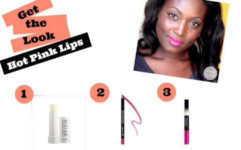 Get The Look: Hot Pink Lips for Summer