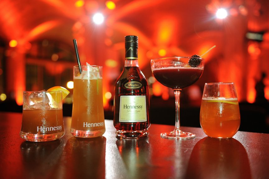 Hennessy Privilège mixed drinks
