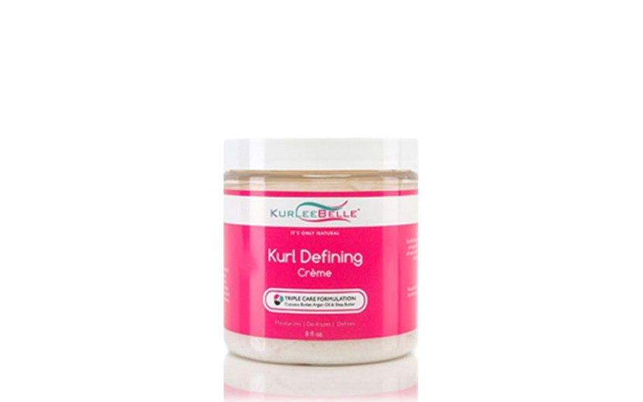 "<strong>Kurlee Belle's most popular product:  </strong>Kurl Defining Crème ($18.00, <a href=""http://kurleebelle.com/products/kurl-defining-creme"" target=""_blank"">KurleeBelle.com)</a>"