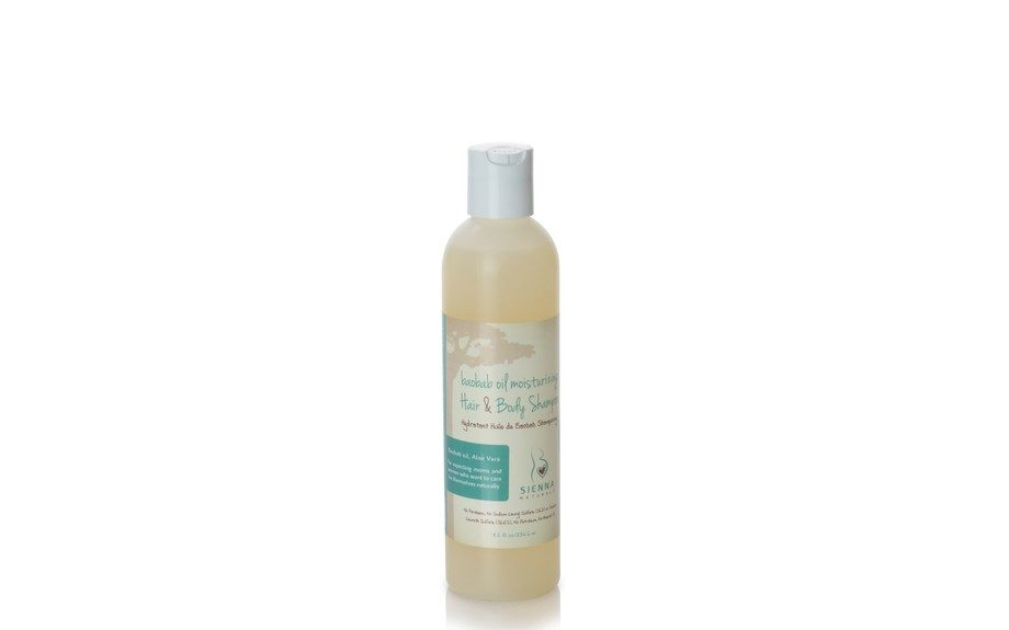 "<strong>Sienna Natural's most popular product: </strong>Baobab Oil Moisturizing Hair & Body Shampoo. ($18.00, <a href=""http://siennanaturals.com/products/baobab-oil-moisturizing-hair-and-body-shampoo"" target=""_blank"">SiennaNaturals.com</a>)"