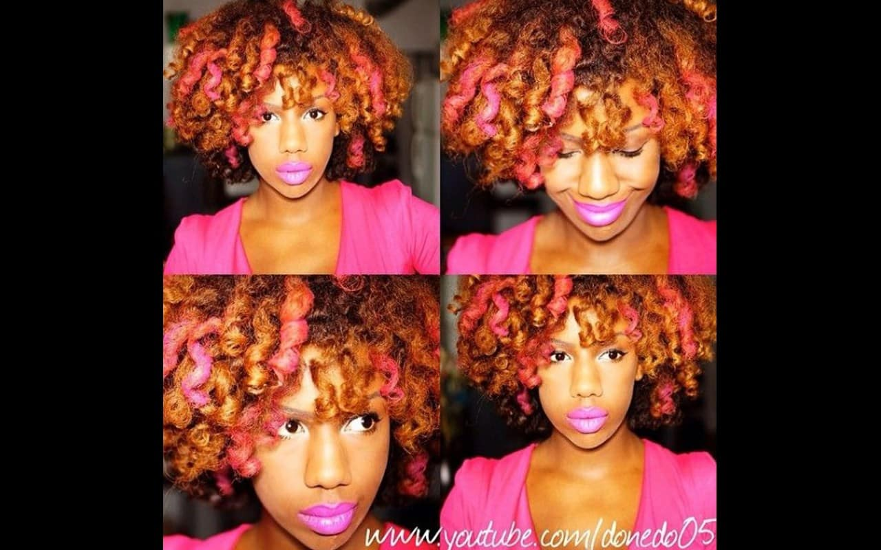 Natural Hair Now 6 Banging Hair Colors That Rock On Black
