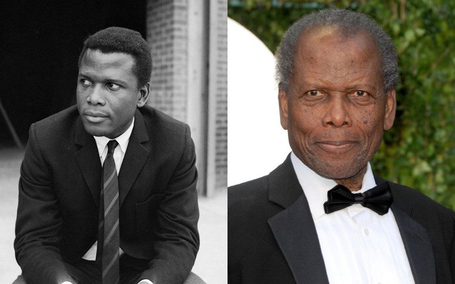 "Sidney Poitier (85): ""You don't have to become something you're not to be better than you were."""