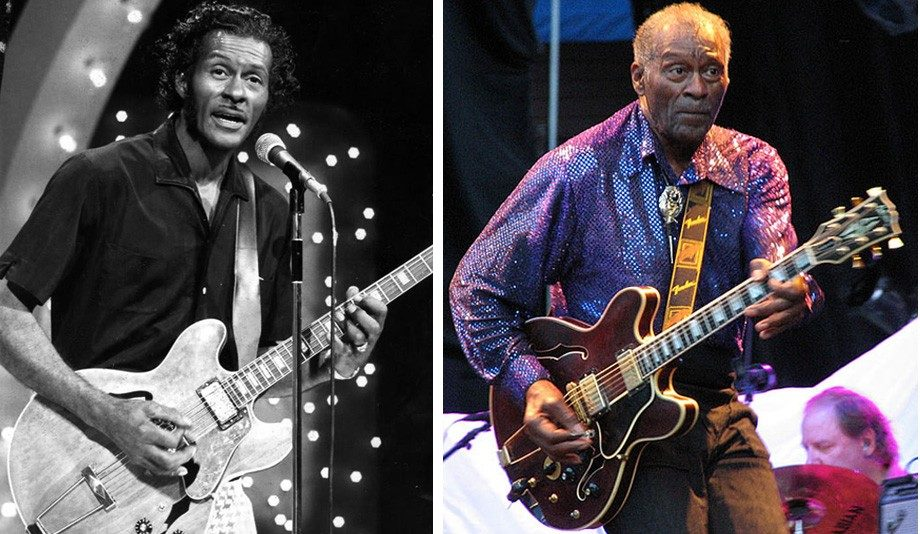 "Chuck Berry (86): ""Don't let the same dog bite you twice."""