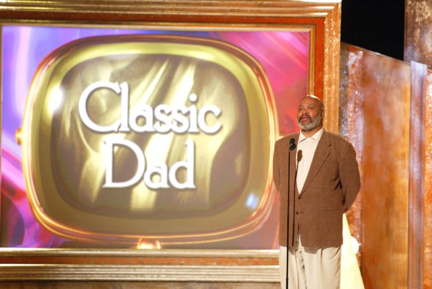 The late James Avery exemplifies the classic dad.