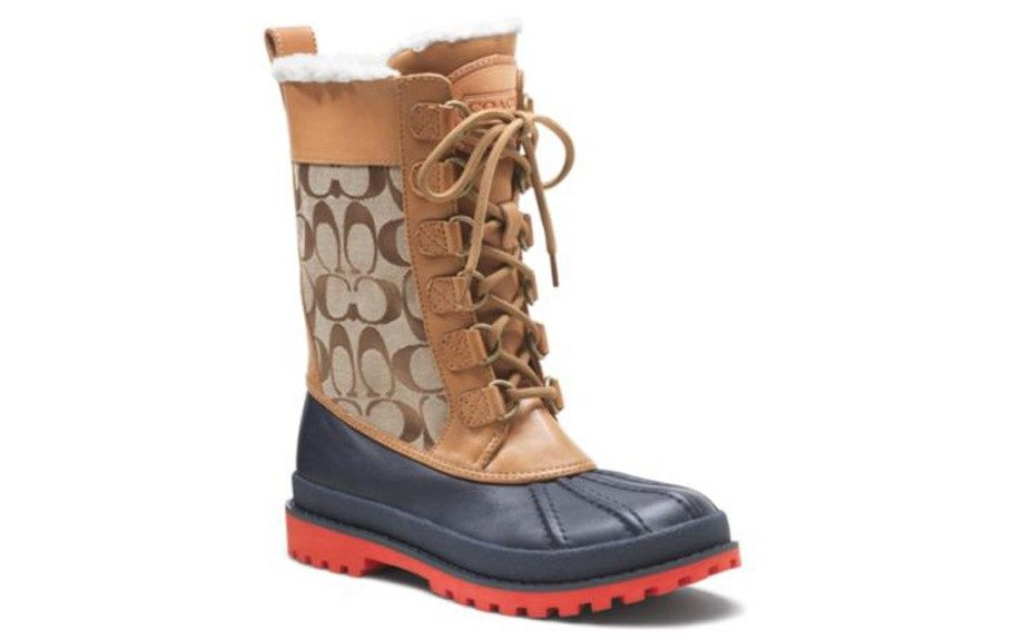 """For the women preparing to """"walk it out"""" in this winter...look fashionable while doing so ($188; coach.com)"""