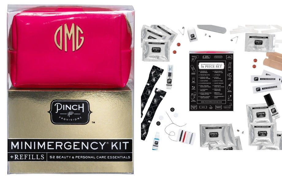 """A run in your stocking? Last minute hot date after work? This complete """"minimergency"""" kit will you ready for any and every thing ($24; pinchprovisions.com)"""
