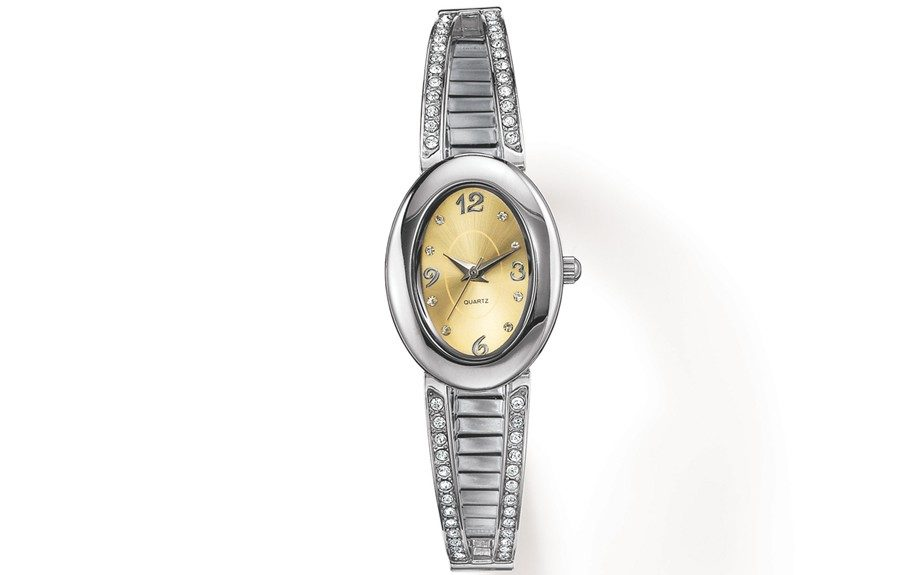 Something about a woman wearing a watch...($29.99; avon.com)