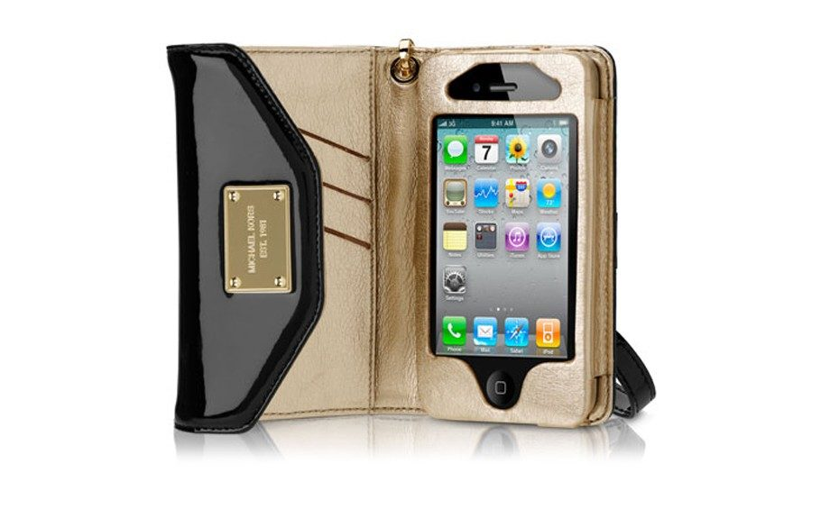 The head woman in charge is good to go with this Michael KorsiPhone Wristlet ($79; michaelkors.com)