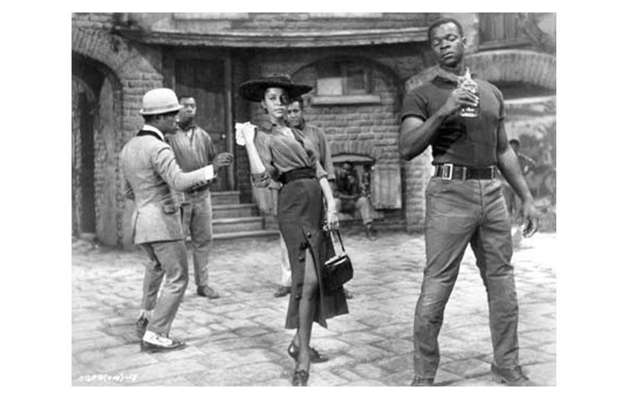 The Inspiration: Dorothy Dandridge in the 1959 film adaptation of the musical <em>Porgy and Bess</em>