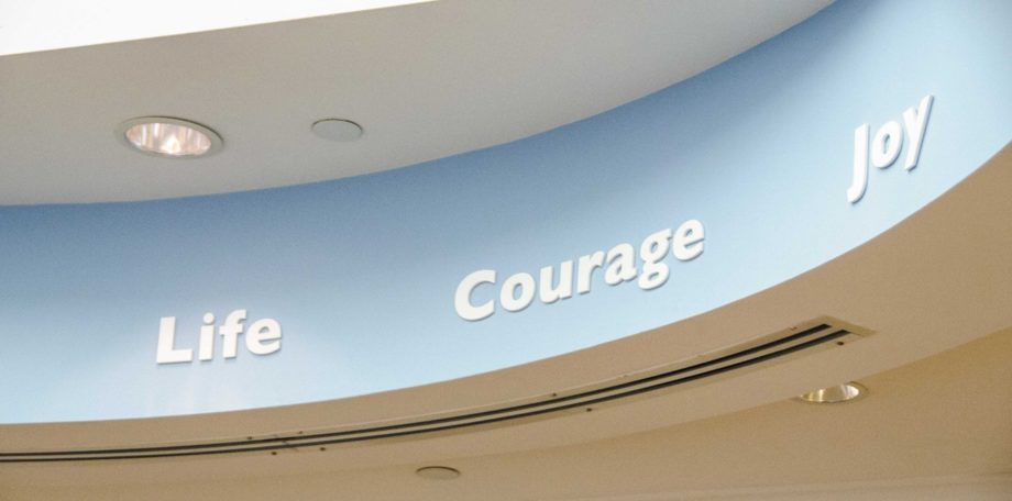 Three words that captivate you once you step inside of the amazing St. Jude Hospital.