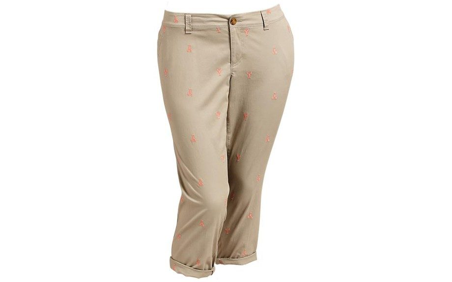 Old Navy Women's Plus Boyfriend Skinny Khaki ($26, <u>oldnavy.com</u>)